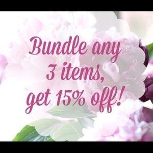 Bundle and save !